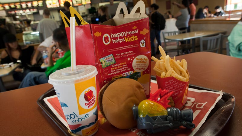 Illustration for article titled McDonald's quietly took Happy Meals off its value menu