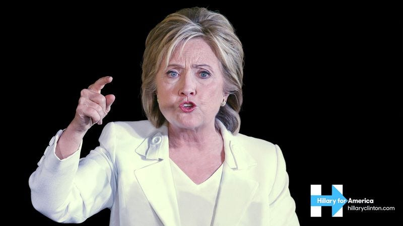 Illustration for article titled Defensive Clinton Campaign Releases New 'Who Are You To Judge Me?' Ad