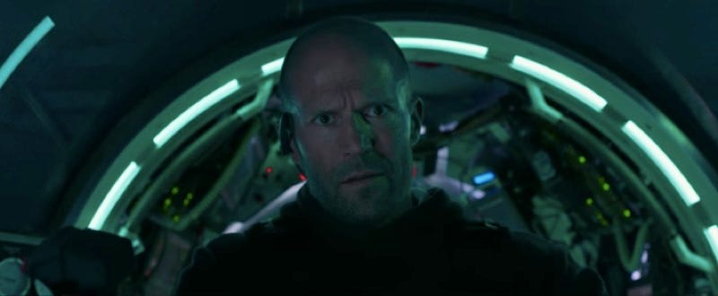 Jason Statham Versus The Largest Shark That Ever Existed Sounds