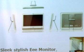 Illustration for article titled First Pic of Asus Eee All-In-One, New Eee Coming