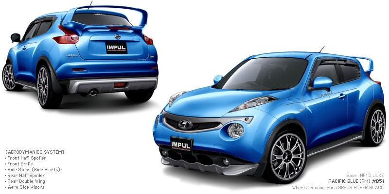 Illustration for article titled The Nissan Juke body kit no one asked for