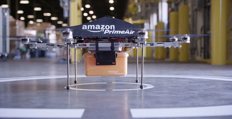 Illustration for article titled Amazon Can (Finally) Test Its Delivery Drones In the United States