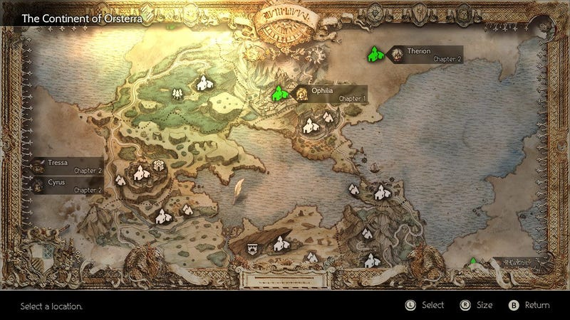 How Octopath Traveler S Structure Actually Works Kotaku Uk
