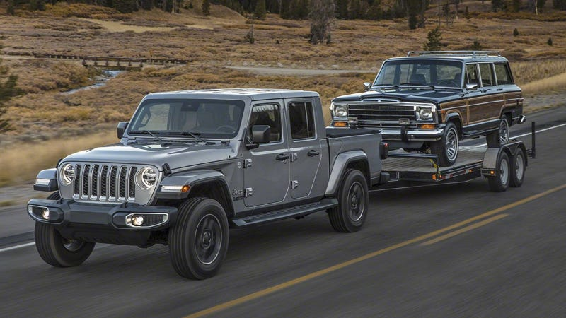 Jeep Wrangler Pickup Truck >> 2019 Jeep Gladiator Is a Glorious Jeep Pickup