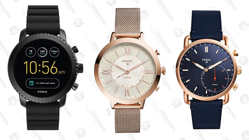 25% off Fossil Smart Watches | Amazon