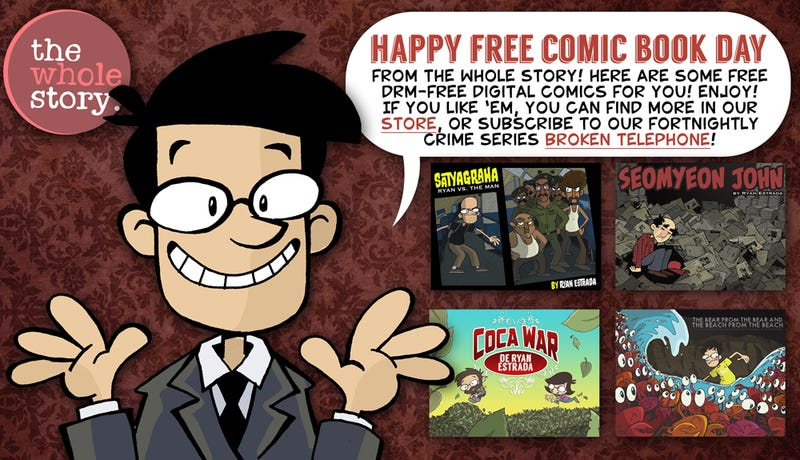 Illustration for article titled Free Comics: Download The Whole Story From Ryan Estrada