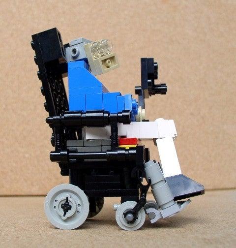 Lego Stephen Hawking Takes Flight