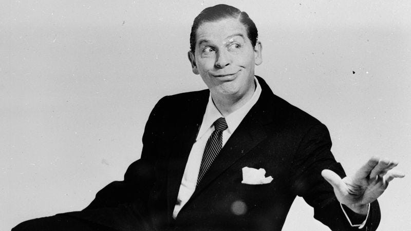 Milton Berle (Photo: Weegee/Arthur Fellig, International Center Of Photography/Getty Images)