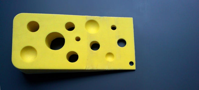Illustration for article titled Scientists Have Worked Out Why Swiss Cheese Has Holes
