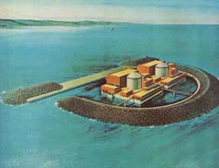 Illustration for article titled The American Plan to Build Nuclear Power Plants in the Ocean
