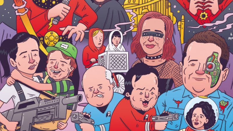 Illustration for article titled 2016 Festival Supreme lineup includes Patton Oswalt and Flight Of The Conchords