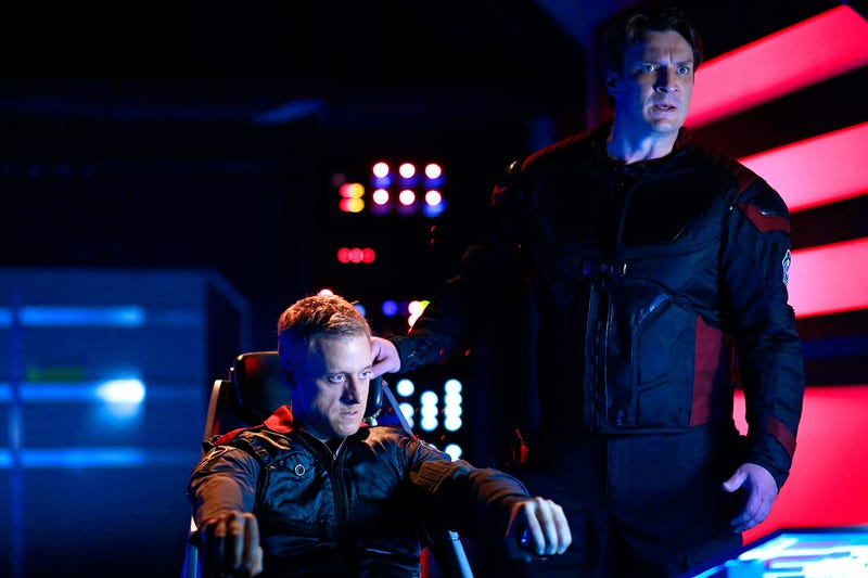 Illustration for article titled Nathan Fillion and Alan Tudyk'sCon Man Satirizes Comic-Con at Comic-Con