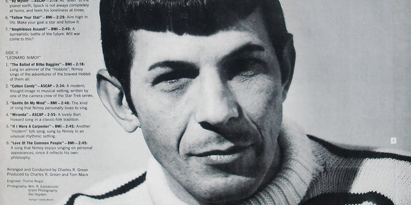 Illustration for article titled Why Does Leonard Nimoy Sing About Bilbo Baggins In That Audi Ad?