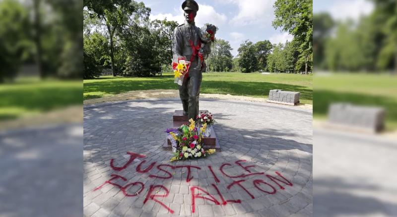Richmond, Va , Police Chief Calls Vandalism of Memorial