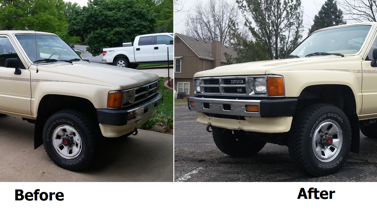 Heres Exactly What It Cost To Buy And Repair An Old Toyota Pickup Truck 1984 1989 4runner Sale