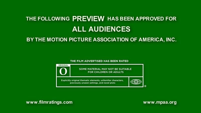 The MPAA's new O rating will appear on all movies containing explicitly original, unadapted, and unfamiliar material.
