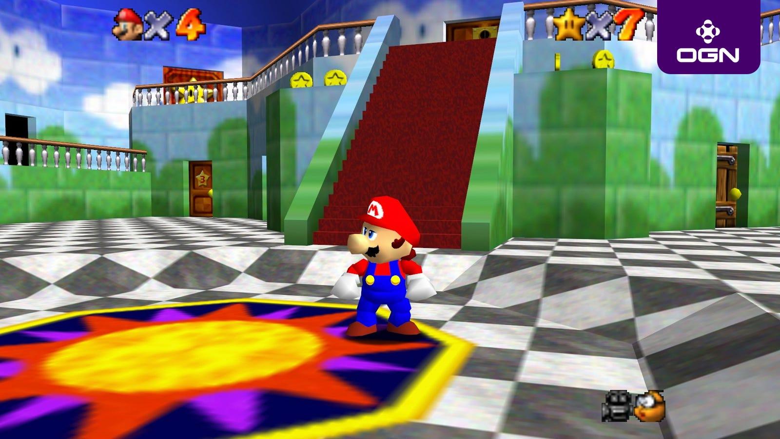 Hier ist Alles, was Wir Wissen, So Weit Über 'Super Mario 64'