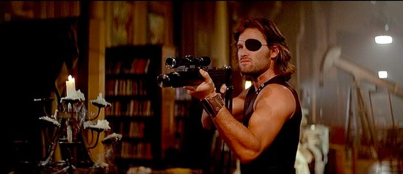 Kurt Russell in the original Escape from NY. Image: AVCO