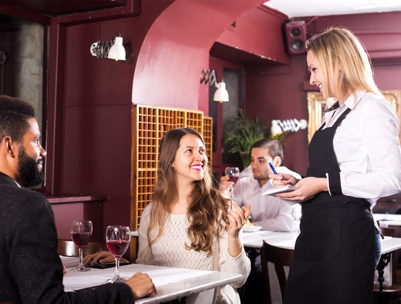 Illustration for article titled Waitress Treated Extra Courteously To Compensate For Assholes At Adjacent Table