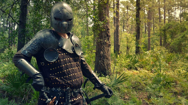 Illustration for article titled Skyrim Is For Kids. This Is Real-Life Role-Playing.