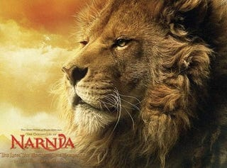 Illustration for article titled 3 new Narnia clips show how the Jesus Lion died for your dragon sins