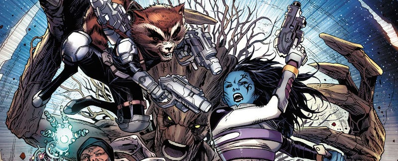 Illustration for article titled Guardians of Infinity Features All Of The Galaxy's Guardians
