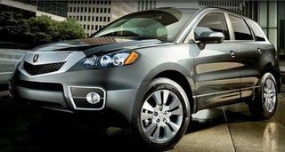 Illustration for article titled 2010 Acura RDX: Less AWD, More Fugly