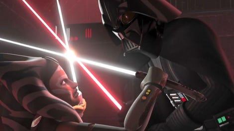 Star wars sexy ahsoka tano und anakin skywalker nackt sex