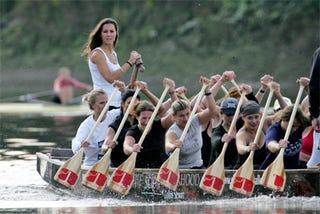 Illustration for article titled Kate Middleton Plays Water Sports While The Rest Of England Drowns