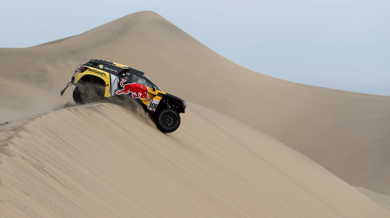 Illustration for article titled The Dakar Rally May Be Headed To Saudi Arabia: Report