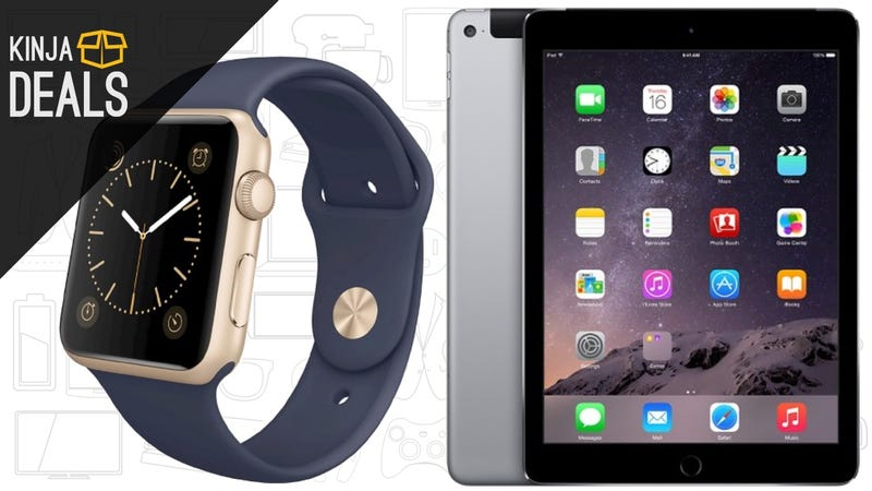 Illustration for article titled All Of the Best Apple Watch and iPad Discounts, In One Place