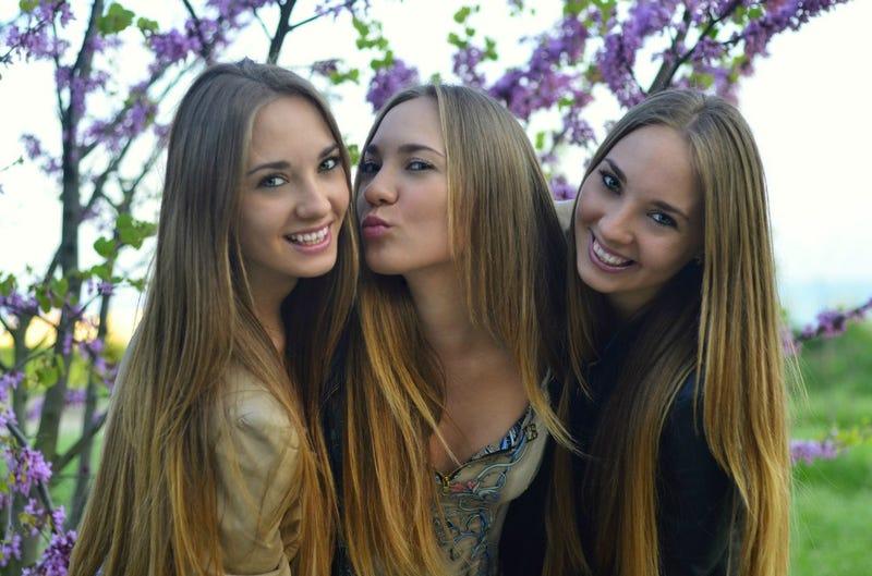 Illustration for article titled Ukrainian Triplets
