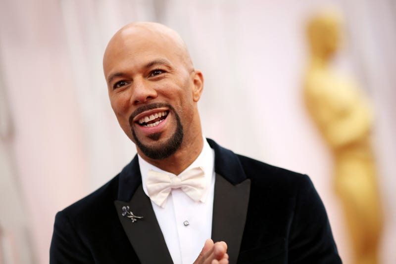 HOLLYWOOD, CA - FEBRUARY 22:  Rapper/actor Common attends the 87th Annual Academy Awards at Hollywood & Highland Center on February 22, 2015 in Hollywood, California.  (Photo by Christopher Polk/Getty Images)