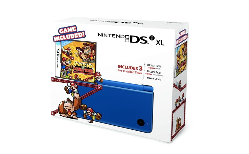 Illustration for article titled Nintendo DSi Xl Bundles Fit for a Kong