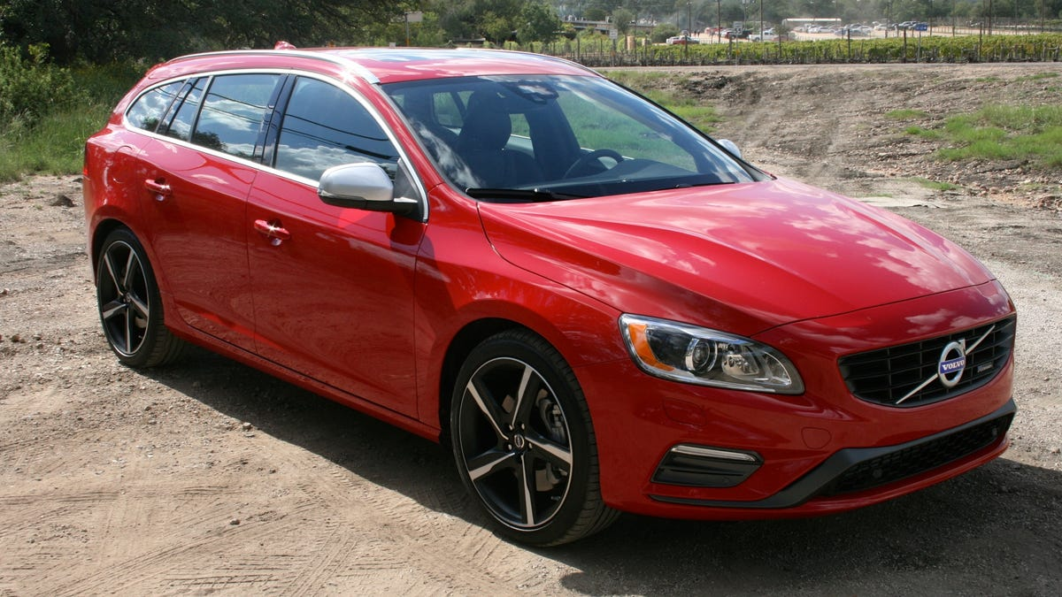 2015 Volvo V60 T6 R-Design: The Jalopnik Review