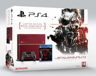 Illustration for article titled Metal Gear Solid V PS4 Coming to Europe