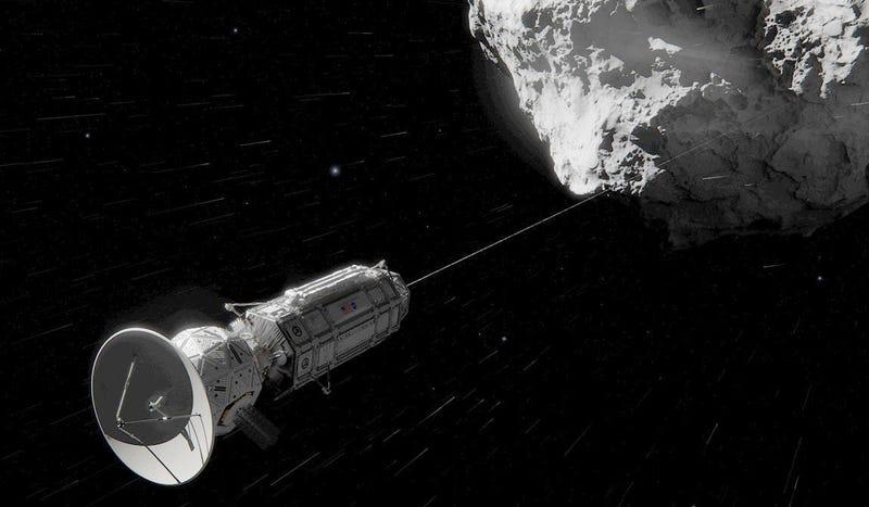 La NASA prepara una nueva sonda que cazará asteroides mediante arpones