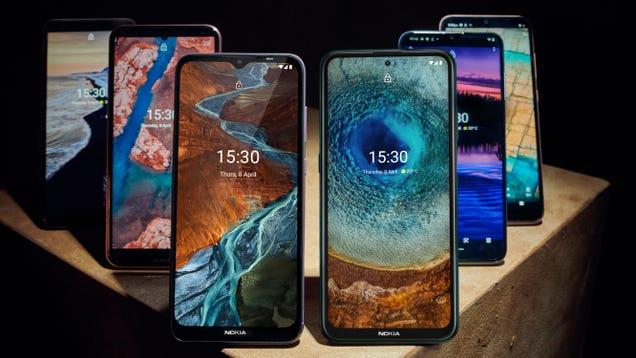 Nokia s Overhauled Budget Phone Lineup Has Something for Everyone