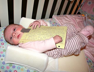 Illustration for article titled Breakup Letter Taped To Baby