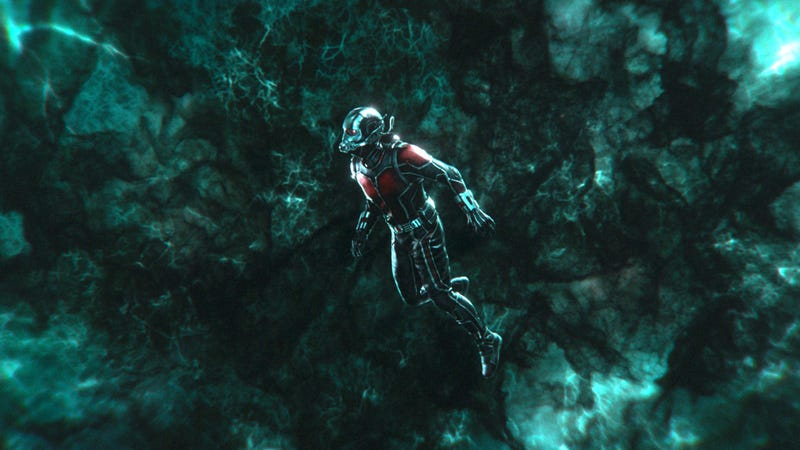 Ant-Man in the Quantum Realm.