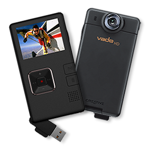 Illustration for article titled Creative Vado HD Pocket Camcorder Now Available