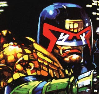 Illustration for article titled New Judge Dredd Movie Getting Danny Boyle Treatment?