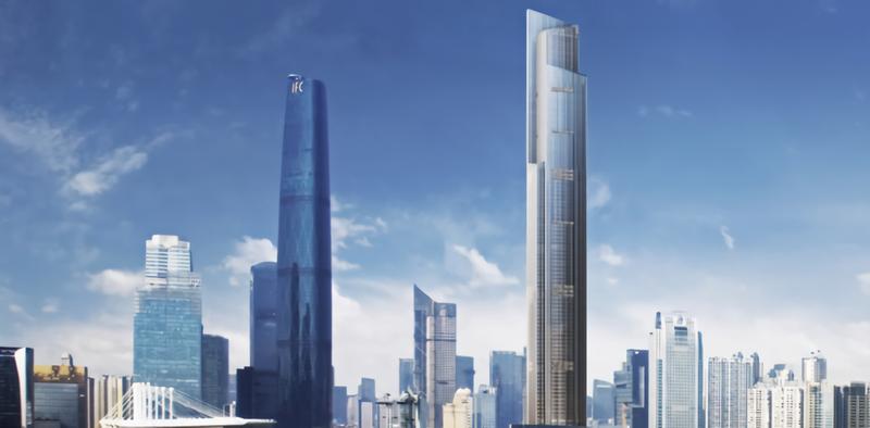 Illustration for article titled El ascensor más rápido del mundo está en China y puede subir casi 100 plantas en 43 segundos