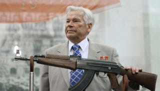 Illustration for article titled Today, The Inventor Of The AK-47 Died