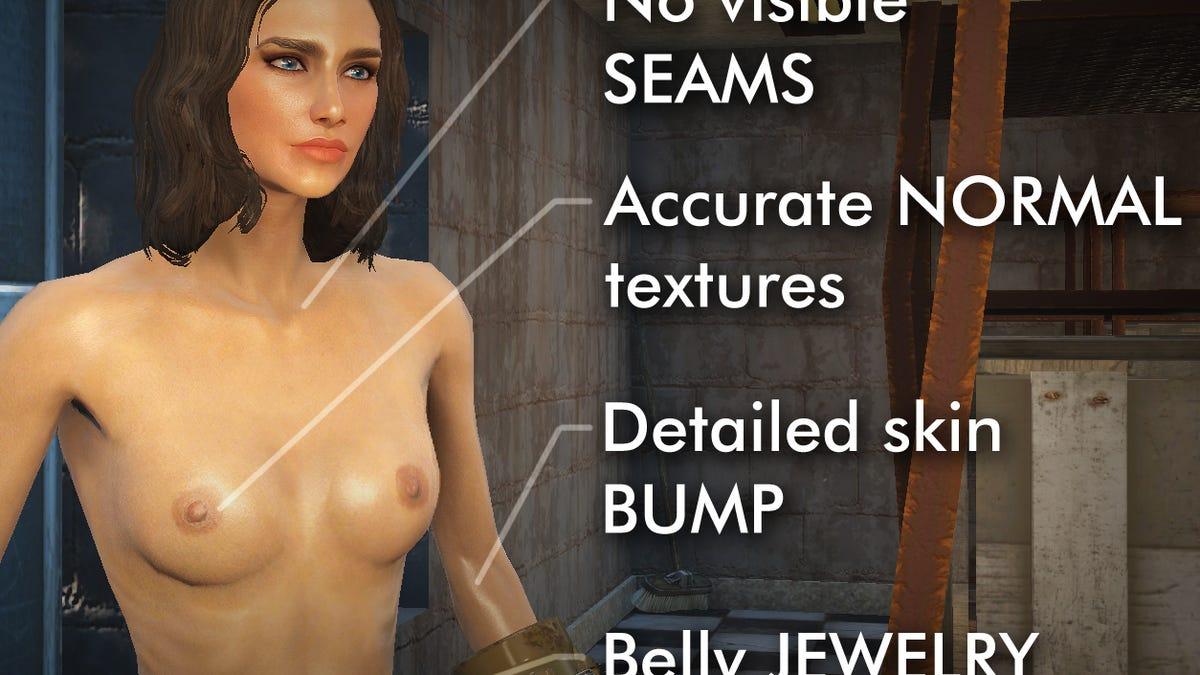 Large natural boobs fallout 4