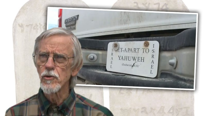 Illustration for article titled Kook Suing Idaho DOT Because Ten Commandments Don't Say He Needs A License