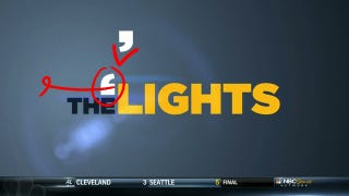 Illustration for article titled NBC's The 'Lights [Sic]: Like SportsCenter, But With Sports
