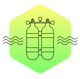 Illustration for article titled Diving cylinders