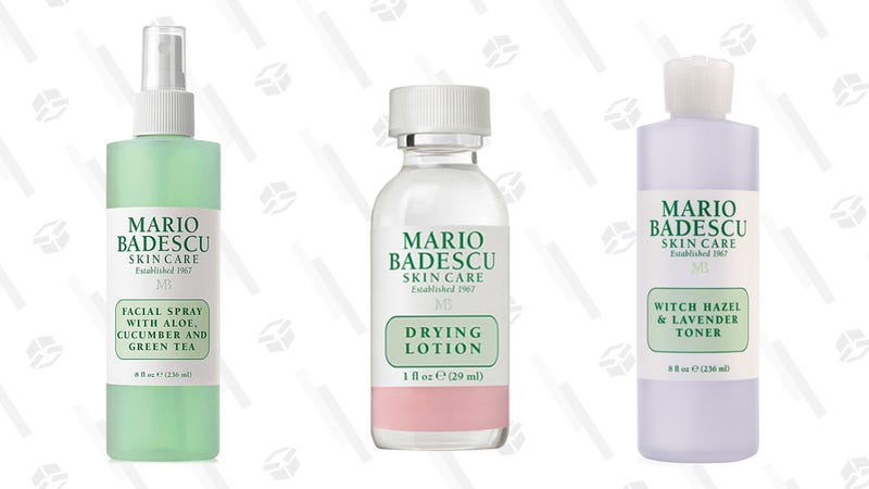 Facial Spray with Aloe, Cucumber, and Green Tea | $12 | UltaMario Badescu's Drying Lotion | $17 | UltaWitch Hazel & Lavender Toner | $14 | Ulta
