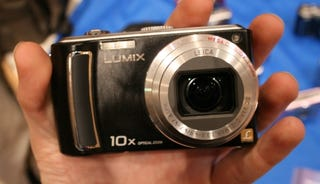 Illustration for article titled Hands On Panasonic Lumix TZ5 10X Zoomer and HD Camcorder
